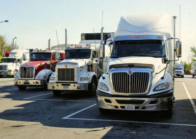 Taller para vehículos industriales